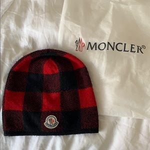 d543d29d16e Moncler Red beanie unisex
